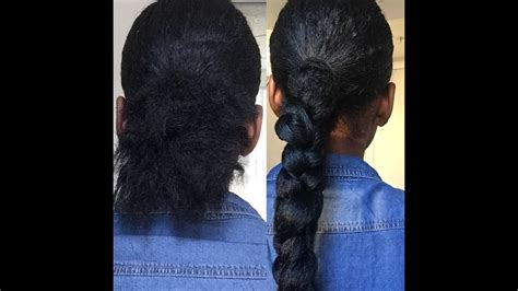 The Perfect Low Ponytail Braid With Braiding Hair (you