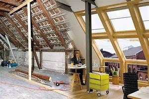 Dachausbau Mit Fenster : ein dachausbau schafft neuen wohnraum ~ Lizthompson.info Haus und Dekorationen