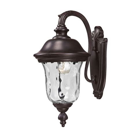 lithonia lighting bronze metal halide outdoor wall mount