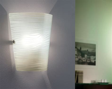 modern white icing tapered wall washer light 91856