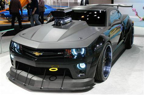 Meet The 700hp Monster Chevy Camaro For Dreamworks