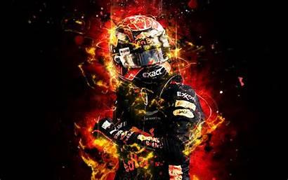 Verstappen F1 Max 4k Formula Abstract Bull