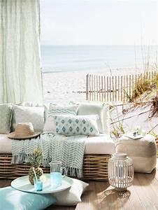 Déco Bord De Mer Chic : terrasse maison bord de mer id e d co po tique hygge ~ Melissatoandfro.com Idées de Décoration
