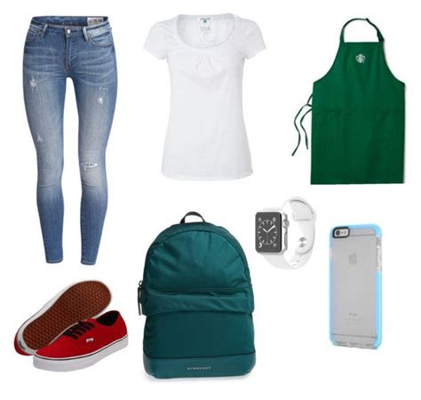 Gamis Dress Brista starbucks barista clothes