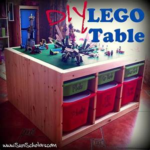 DIY Ikea Lego Table: Aka The Super Secret Project: The Day