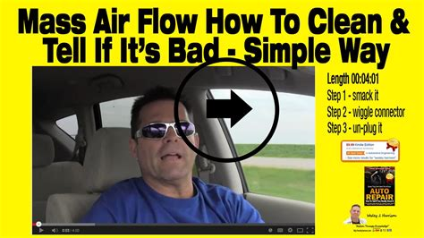 How To Bathe Like A How To Tell If You Really Need A Mass Air Flow Sensor