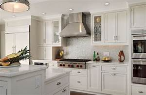 a few more kitchen backsplash ideas and suggestions With kitchen colors with white cabinets with horse metal wall art
