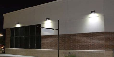 cutoff wall packs enduralite led lights