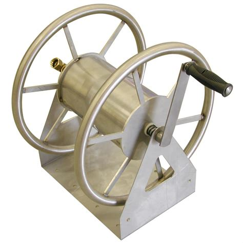liberty 174 stainless steel 200 ft hose reel 125179