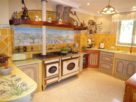 cuisine style provencal reactualise decoration