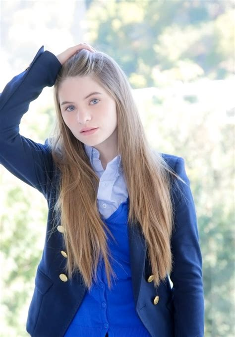 Enticing Schoolgirl With Sexy Long Hair Alice March