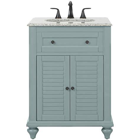 Hamilton Vanity Traditional Bathroom Vanity Home Decorators Collection Hamilton Shutter 25 In W