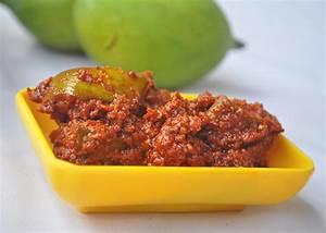 Avakkai (Andhra style Mango Pickle) Recipe | Mareena's ...