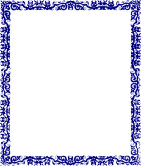 blue border design clip art  clkercom vector clip art