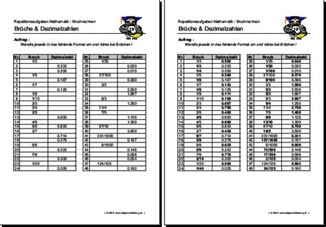 brüche in dezimalzahlen umwandeln übungen mathematik geometrie arbeitsblatt brüche dezimalzahlen 8500 übungen arbeitsblätter