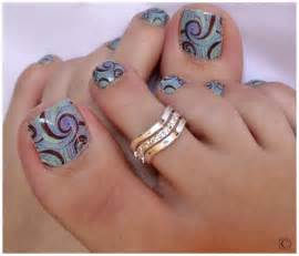 Toenail stamp art design cute designs