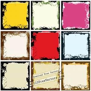 Grunge Frame Vectors | Download Free Vector Art | Free-Vectors