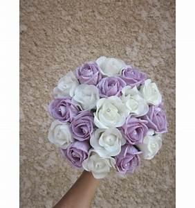 Bouquet De La Mariée : bouquet de mariage rond emma avec roses et diamants ~ Melissatoandfro.com Idées de Décoration
