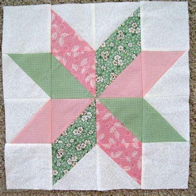 star flower quilt block favequiltscom