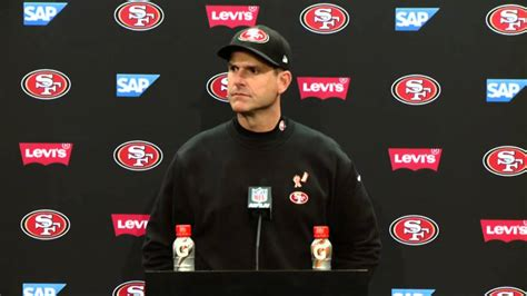 ers  seahawks postgame press conference jim harbaugh