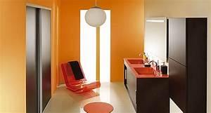Salle De Bain Orange : salle bain orange marron photo 5 5 salle de bain orange et marron ~ Preciouscoupons.com Idées de Décoration