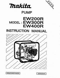 Pump Ew300r Manuals