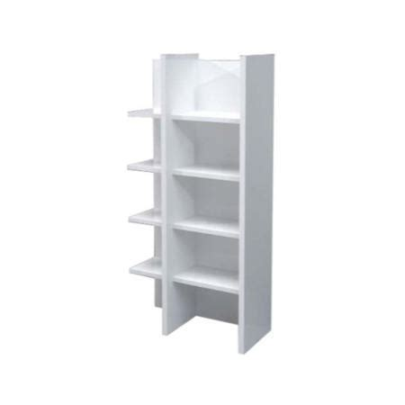 sciae  white high gloss bookcase furniture