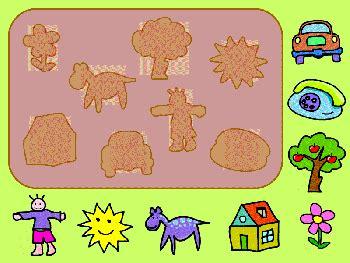 free preschool shape matching preschool 989 | Pre k Shape Match