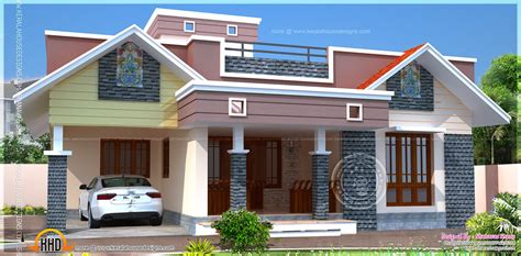 house designs floor plan modern single home indian house plans