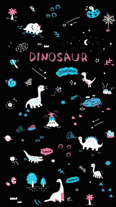 aesthetic background purple dinosaur wallpaper