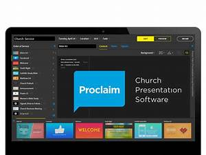 Proclaim Church Presentation Software Review