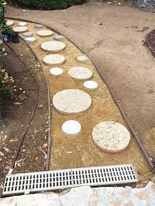 Gartenwege Anlegen Ideen : einen kreativen gartenweg anlegen mit zementsteinen ~ Markanthonyermac.com Haus und Dekorationen