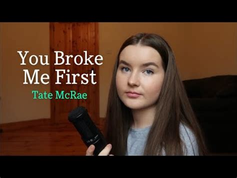 You Broke Me First - Tate McRae (cover) - YouTube