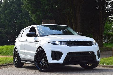 range rover evoque svr body kit upgrade