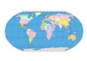 Globe with Latitude and Longitude Map