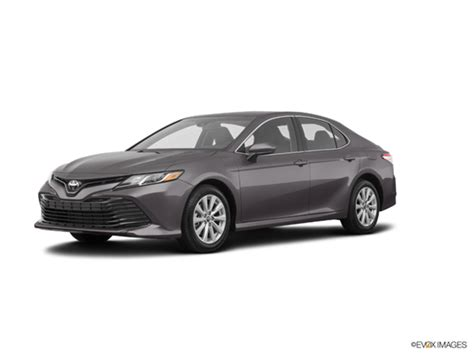 toyota camry le  car prices kelley blue book