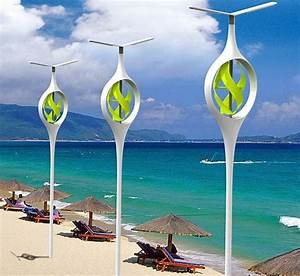 This light is environmentally friendly as it has a wind ...