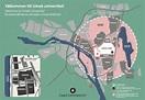 Map of Umeå Arts Campus