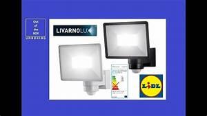 Livarno Lux Led : livarno lux led outdoor light 30w lslb 30 a1 unboxing lidl 30w 2400lm 180 5000k youtube ~ Watch28wear.com Haus und Dekorationen