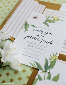download and print an anemone wedding invitation suite With diy wedding invitations amazon
