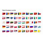 Country European Flags Flag Countries Icon Icons