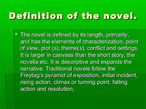 the modern novel