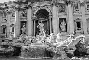 Trevi Fountain by John Maggiotto (Black & White Photograph ...
