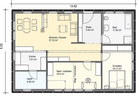 Grundriss Bungalow 3 Zimmer by Bungalow Grundrisse 220 Bersicht Mit Vielen Bungalow