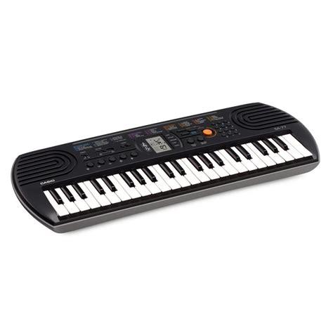 Casio Sa 77 Mini 44 Key Portable Keyboard At Gear4music.com