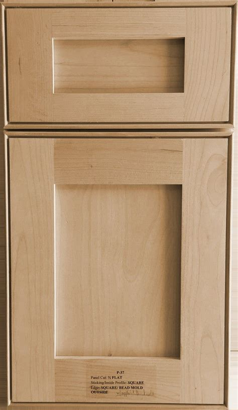 Tired of your drab kitchen? Shaker Cabinet Door 9.99 Per Sq Ft-Plus ShippinG-Unpainted ...
