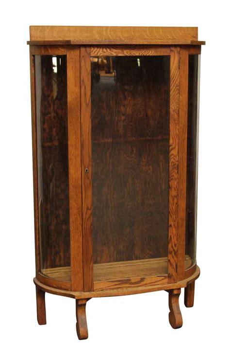 refinished china cabinet refinished ebert oak china cabinet olde things