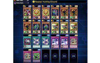 harpie deck duel links kog decks mar 7 20 2017 yugioh duel links gamea