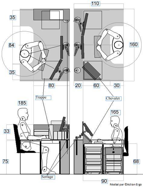 hauteur d un bureau de travail hauteur d un bureau de travail 28 images des postes de