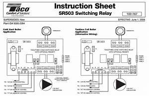 taco sr501 wiring diagram wiring diagram and schematic With zone valve wiring diagram furthermore taco zone valve wiring diagram
